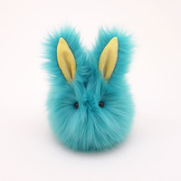 Breeze the Aqua Blue Bunny Stuffed Animal Plush Toy