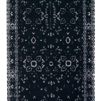 Hand Knotted Furtive Persan Wool Rug