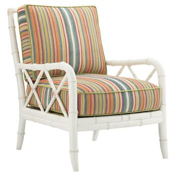 Lexington Home Brands, Heydon Chair, Green/Multi, Accent & Occasional Chairs