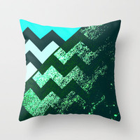 rational meets irrational (in mint flavor) Throw Pillow by Marianna Tankelevich
