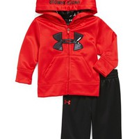 Under Armour 'Edge' Camo Logo Hoodie (Toddler Boys) | Nordstrom
