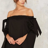Flares and Graces Off-the-Shoulder Top