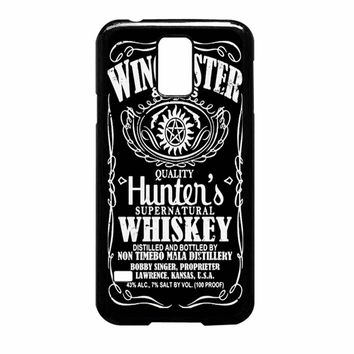 Winchester And Sons Sam And Dean Supernatural Samsung Galaxy S5 Case