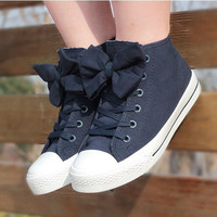 00-Bow Canvas Shoes-77-05