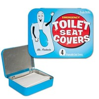 Emergency Toilet Seat Covers - Accoutrements - Novelties - Novelties at Entertainment Earth