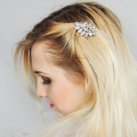 Wedding Hair Accessories/ Bridal hair comb/Swarovski Crystal Hair comb/Hair clips