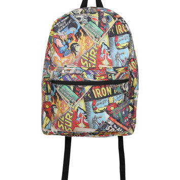 Marvel Comics Collage Backpack | Hot Topic