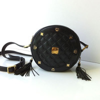 Vintage MCM Quilted Suzy Wong Cross body Bag