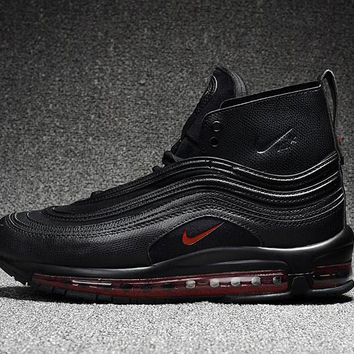 Best Deal Online Riccardo Tisci RT x Nike Air Max 97 Mid Men Sports Shoes Black Red