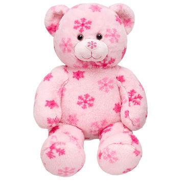 16 in. Pink Flurry Teddy | Build-A-Bear