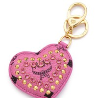 MCM Heart Bag Key Ring