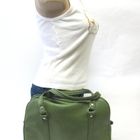 Sage Green Purse Doctor Bag Style P12
