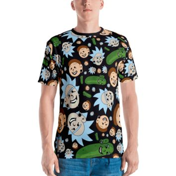Plug Boy Rick & Plug Boy Morty - All-Over Print Cut & Sew Unisex Tee [Limited Edition]