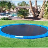 In ground Trampolines - 15 Foot Trampoline