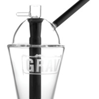 "8"" Grav Labs Cup Bubbler - Clear 