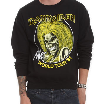 Iron Maiden Killer World Tour Crewneck Sweatshirt | Hot Topic