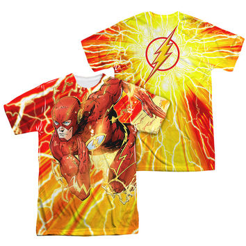 The Flash Lightning Dash Sublimation Mens T-Shirt