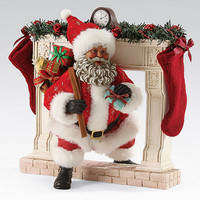Possible Dreams African American Making An Entrance Santa Figurine | Dillards