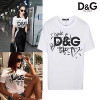 ABDCCK2 Dolce And Gabbana Have a beautiful Life T-shirt