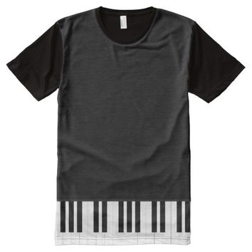 PIANO MUSIC All-Over-Print SHIRT