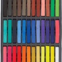 36 Colors Brand New Temporary Hair Color Dye Pastel Chalk Bug Rub Overview