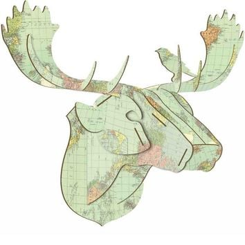 Atlas Moose Puzzle Plaque