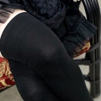 Solid Over the Knee Stockings