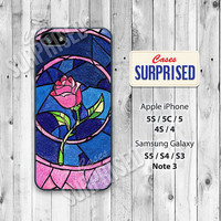 Disney, Beauty and the Beast, Rose, iPhone 5 case, iPhone 5C Case, iPhone 5S case, Phone case, iPhone 4 Case, iPhone 4S Case, b&b02