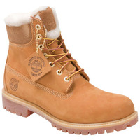 Timberland 6-Inch Fur Lined Wheat Tan Tan Outdoor Boot