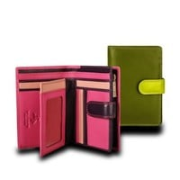 Visconti RB51 Multi Colored Large Bifold Plus Soft Leather Ladies Wallet & Purse