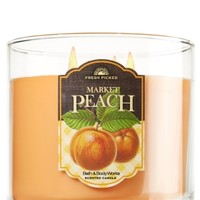 14.5 oz. 3-Wick Candle Market Peach