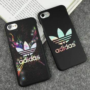 Nike Adidas 2018 Fashion iPhone 7 iPhone 7 plus - Stylish Cute Luminous On Sale Hot Deal iphone Matte Couple Phone Case For iphone 8 8 6plus-1