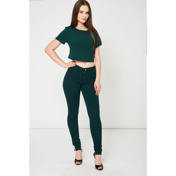 Forest Green Jeans Ex-Branded