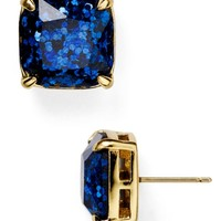 kate spade new york Small Square Glitter Stud Earrings | Bloomingdales's