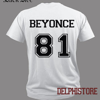 beyonce DOB shirt t shirt tshirt tee shirt black and white unisex size (DL-20)