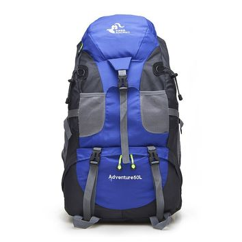 Free Knight 50 Litre Waterproof Nylon Outdoor Foldable Backpack