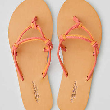 AEO Knotted Flip Flop , Pink