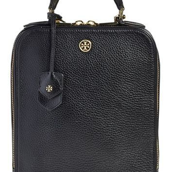 Tory Burch 'Robinson' Pebbled Leather Backpack