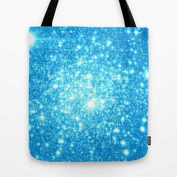 Sky Blue  Tote Bag by WhimsyRomance&Fun