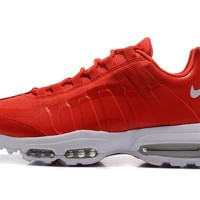 Best Sale NIKE AIR MAX 95 ULTRA ESSENTIAL White Red