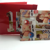One Directiond Duct Tape Wallet With Coin Pouch