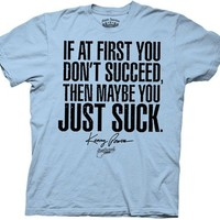 Eastbound & Down You Just Suck Light Blue T-shirt