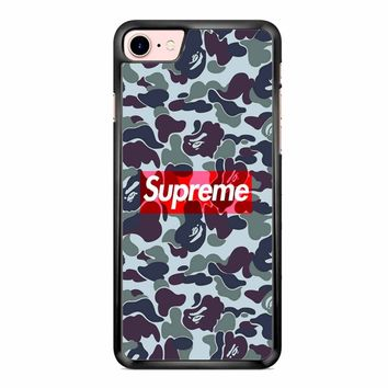 Supreme Bape iPhone 7 Case