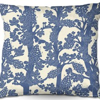 Throw Pillows By Julia Grifol Romantic Tree II