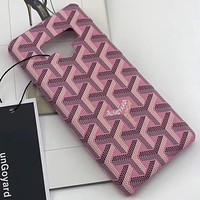 Perfect Goyard Phone Cover Case For Samsung Galaxy s8 s8 Plus S9 S9 Puls note 8 note 9 iphone 6 6s 6plus 6s-plus 7 7plus 8 8plus iPhone X XS XS max XR