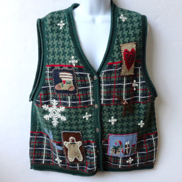 Tacky Christmas Sweater Vest from Nutcracker Extra Large