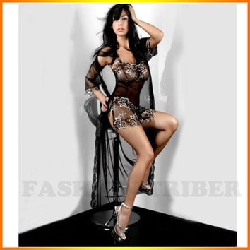 Camison Sexy Mujer Sale Full Slip Good Temptation Sexy Lingerie Lace Thong Strap Transparent Piece Fitted Adjustable Shoulder