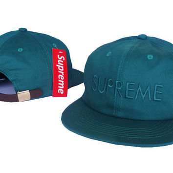 Perfect Supreme Women Men Embroidery Sport Sun hat Baseball Cap Hat
