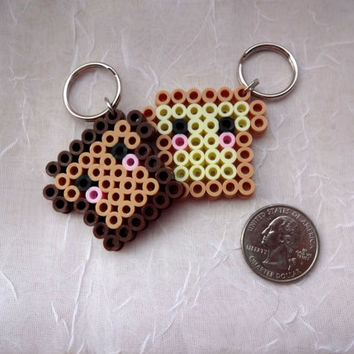 Kawaii Toast Keychain - Kawaii French Toast Keychain - Kawaii Keychain