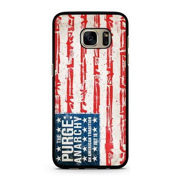 The Purge Anarchy Flag Samsung Galaxy S7 Case